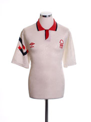 1991-92 Nottingham Forest Away Shirt L