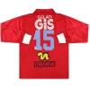 1991-92 Pescara Pienne Match Issue Away Shirt #15 L/S XL
