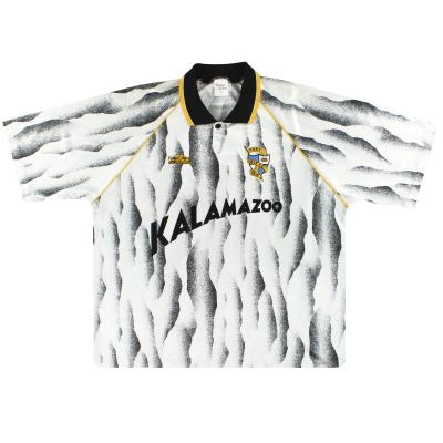 1991-92 Port Vale Home Shirt M