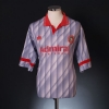 1991-92 Portadown Player Issue Away Shirt #13 L
