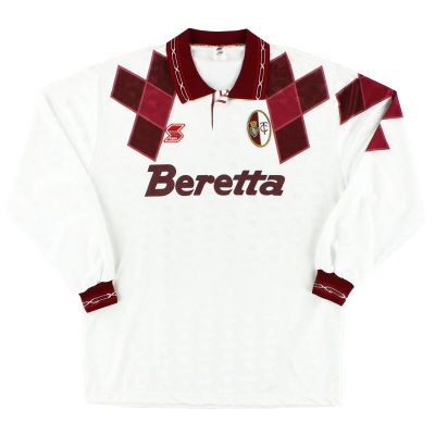 1991-92 Torino Away Shirt L/S XL