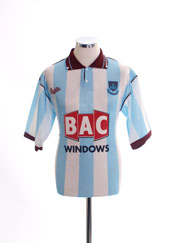 1991-92 West Ham Away Shirt *Mint* S