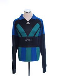 1991-93 adidas Goalkeeper Shirt L