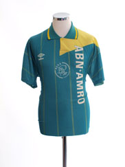 1991-93 Ajax Away Shirt *Mint* M