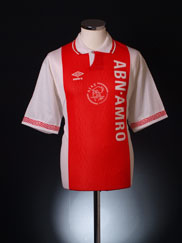 1991-93 Ajax Home Shirt XXL