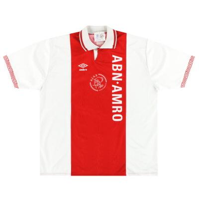 1991-93 Ajax Umbro Home Shirt XXL