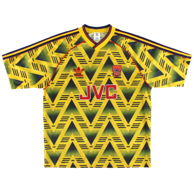 1991-93 Arsenal adidas Away Shirt L/XL