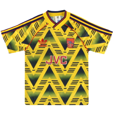 1991-93 Arsenal adidas Away Shirt L.Boys
