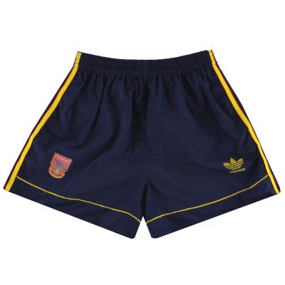 1991-93 Arsenal adidas Away Shorts M