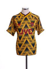 1991-93 Arsenal Away Shirt *Mint* L
