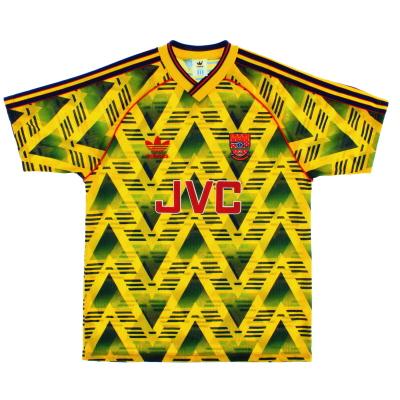 1991-93 Arsenal Away Shirt M