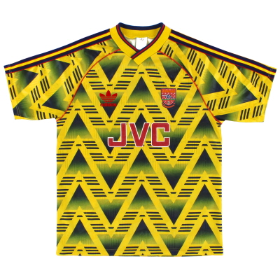 1991-93 Arsenal Away Shirt *Mint* XL