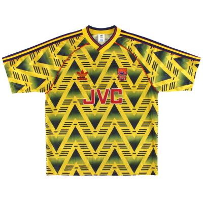 1991-93 Arsenal adidas Away Shirt *Mint* L