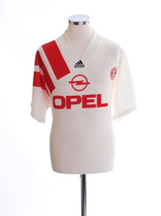 1991-93 Bayern Munich Away Shirt XL