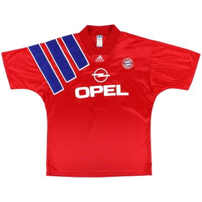 1991-93 Bayern Munich adidas Home Shirt M/L