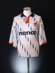 1991-93 Blackpool Away Shirt L