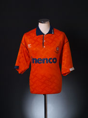 1991-93 Blackpool Home Shirt L