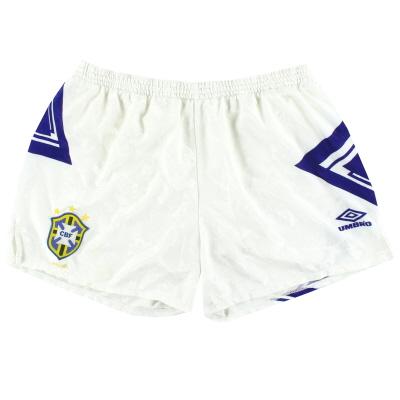 1991-93 Brazil Umbro Away Shorts L