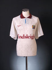 1991-93 Burnley Third Shirt L
