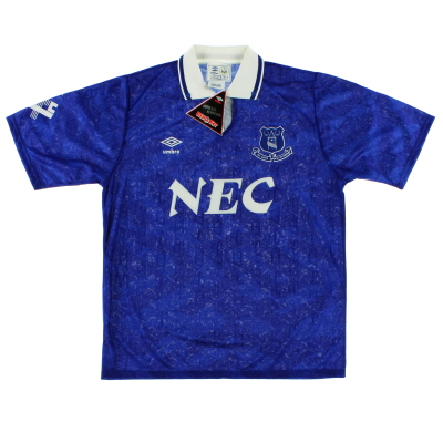 1991-93 Everton Home Shirt *BNIB*