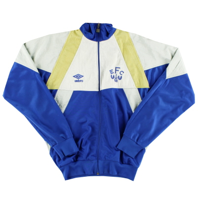 1991-93 Everton Umbro Track Jacket XS