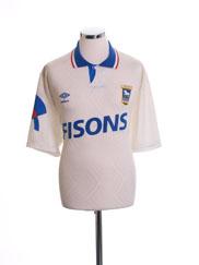 1991-93 Ipswich Away Shirt L