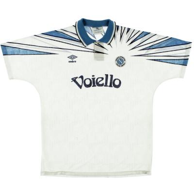 1991-93 Napoli Umbro Away Shirt XL