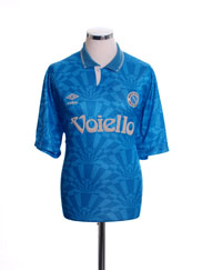 1991-93 Napoli Home Shirt XL