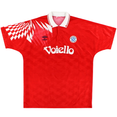 1991-93 Napoli Third Shirt *Mint* XL