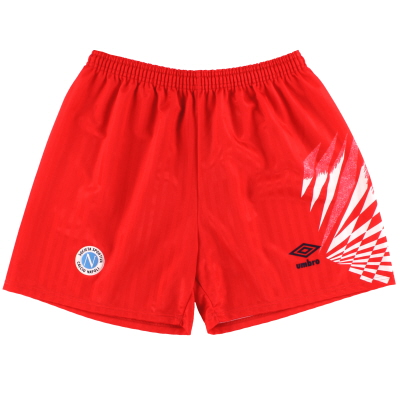 1991-93 Napoli Umbro Third Shorts M