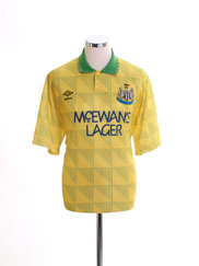 1991-93 Newcastle Away Shirt XL
