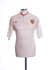 1991-93 Sevilla Home Shirt M