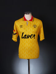 1991-93 Sheffield United Away Shirt L