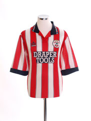 1991-93 Southampton Home Shirt L