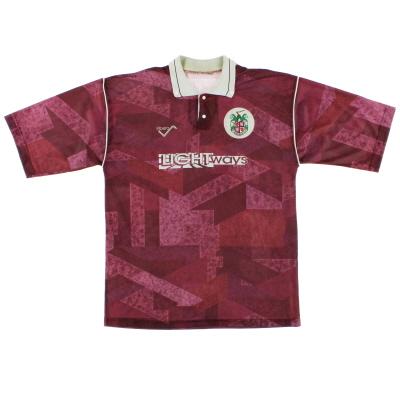1991-93 Stenhousemuir Home Shirt L