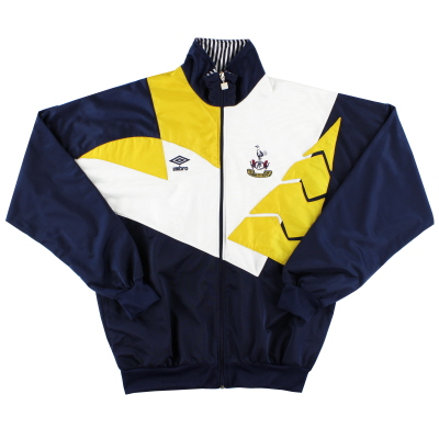 1991-93 Tottenham Umbro Track Jacket *As New* XL