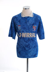 1991-93 Tranmere Rovers Away Shirt L
