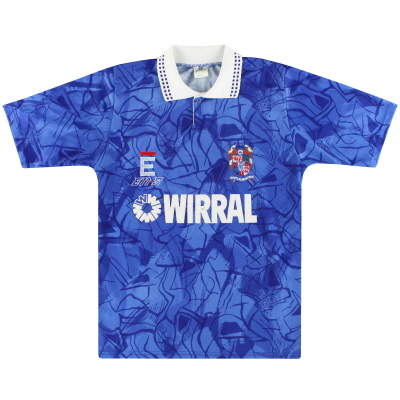 1991-93 Tranmere Rovers Away Shirt S