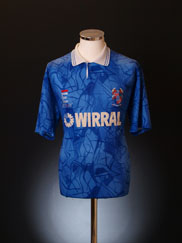 1991-93 Tranmere Rovers Away Shirt XL