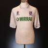 1991-93 Tranmere Rovers Match Issue Home Shirt #15 XL