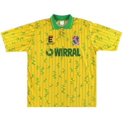 1991-93 Tranmere Rovers Third Shirt L