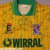 1991-93 Tranmere Rovers Third Shirt M