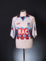 1991-93 West Ham Third Shirt L