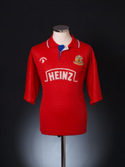 1991-93 Wigan Away Shirt L