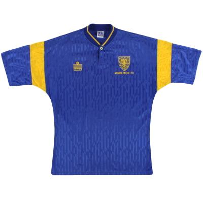 1991-93 Wimbledon Admiral Home Shirt M