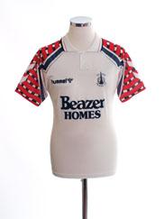 1991-94 Falkirk Away Shirt L.Boys