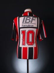 1991 Sao Paulo Away Shirt #10 XL