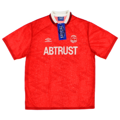 1992-93 Aberdeen Home Shirt *BNIB* XL