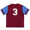1992-93 Aston Villa Home Shirt #3 XL