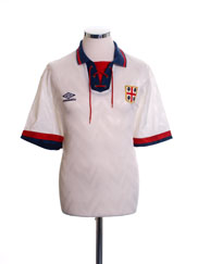 1992-93 Cagliari Away Shirt L